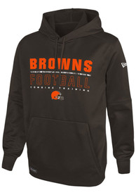 Cleveland Browns Audible Hood - Brown