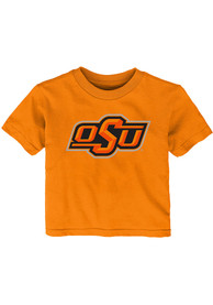 Oklahoma State Cowboys Infant Primary Logo T-Shirt - Orange