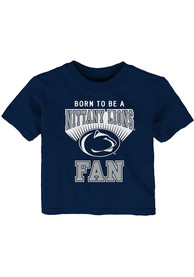 Penn State Nittany Lions Infant Born Fan T-Shirt - Navy Blue