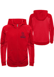 St Louis Cardinals Youth No Glory, No Story Full Zip Jacket - Red