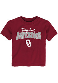 Oklahoma Sooners Infant Still Awesome T-Shirt - Cardinal