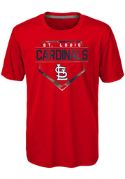 St Louis Cardinals Youth Red Eat My Dust T-Shirt