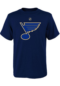 St Louis Blues Youth Primary Logo T-Shirt - Navy Blue