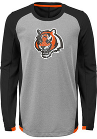 Cincinnati Bengals Boys Mainframe T-Shirt - Grey