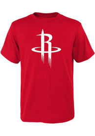 Houston Rockets Youth Primary Logo T-Shirt - Red