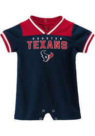 Houston Texans Baby Game Day One Piece - Navy Blue