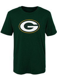 Green Bay Packers Youth Primary Logo T-Shirt - Green