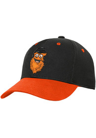 Gritty Philadelphia Flyers Youth Outer Stuff Yth Mascot Structured Adjustable Hat - Black