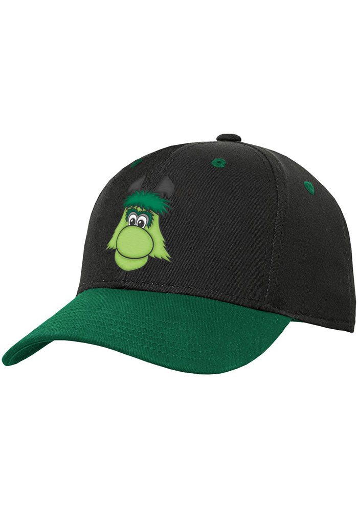Dallas Stars Black Yth Mascot Structured Youth Adjustable Hat - Image 1