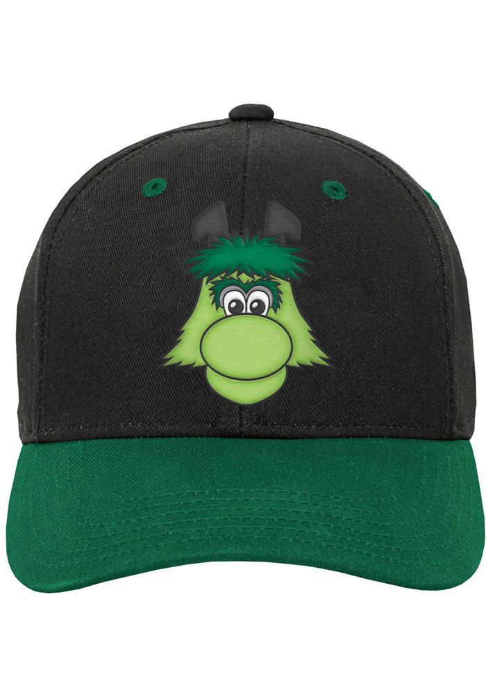 Dallas Stars Black Yth Mascot Structured Youth Adjustable Hat - Image 2