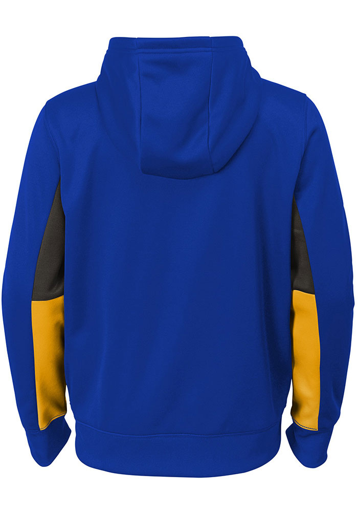 Pitt Panthers Youth Blue Connected Long Sleeve Full Zip Jacket - Image 3