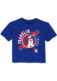 Philadelphia 76ers Infant Ready to Play T-Shirt - Blue