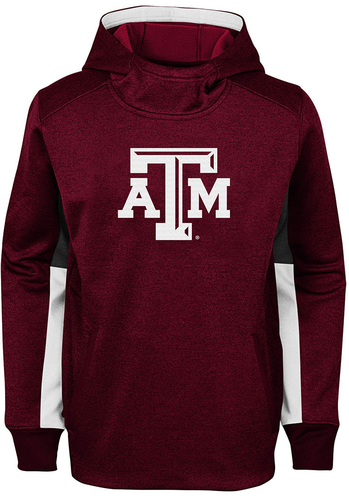 Texas A&M Aggies Youth Status Hooded Sweatshirt - Maroon