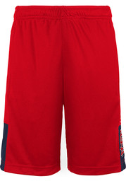 St Louis Cardinals Boys Infield Play Shorts - Red