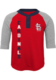 St Louis Cardinals Boys Play to Win Fashion T-Shirt - Red