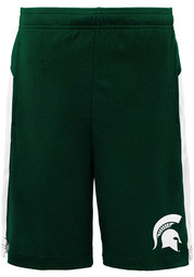 Michigan State Spartans Youth Green Grand Shorts