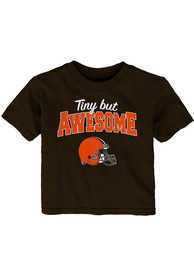 Cleveland Browns Infant Still Awesome T-Shirt - Brown