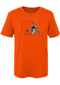 Cleveland Browns Youth Primary Logo T-Shirt - Orange
