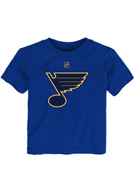 St Louis Blues Toddler Primary Logo T-Shirt - Blue