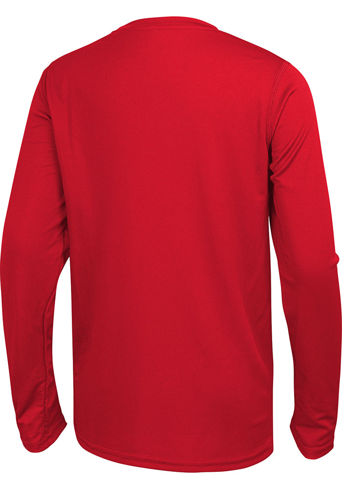 Kansas City Chiefs Red 50 Yard Line Long Sleeve T-Shirt - Image 2
