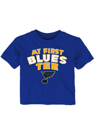 St Louis Blues Infant My First Tee T-Shirt - Blue