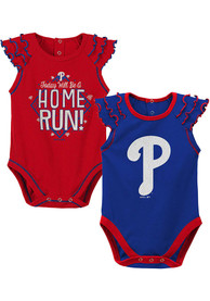 Philadelphia Phillies Baby Shining All Star One Piece - Red