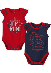 St Louis Cardinals Baby Shining All Star One Piece - Red