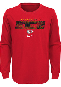 Kansas City Chiefs Youth Nike Playbook T-Shirt - Red