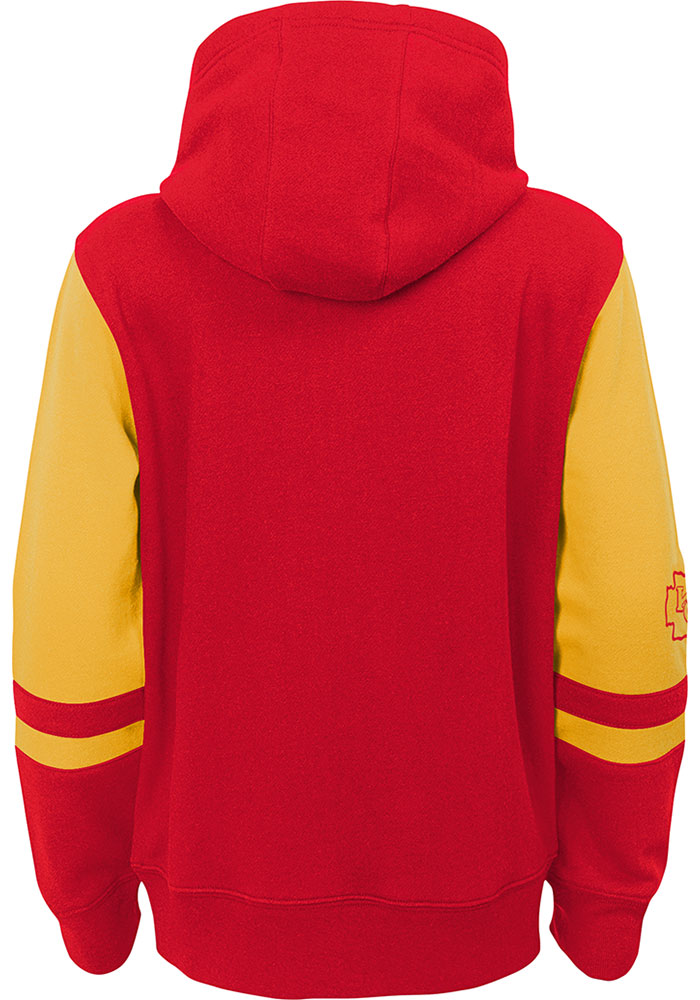 Kansas City Chiefs Youth Red Stadium Long Sleeve Full Zip Jacket - Image 2