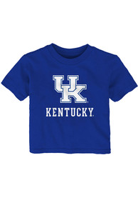 Kentucky Wildcats Infant Primary T-Shirt - Blue