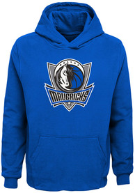 Dallas Mavericks Youth Primary Logo Hooded Sweatshirt - Blue