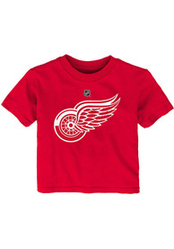 Detroit Red Wings Infant Primary Logo T-Shirt - Red