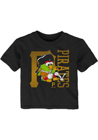 Pittsburgh Pirates Infant Baby Mascot T-Shirt - Black