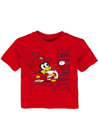 St Louis Cardinals Infant Baby Mascot T-Shirt - Red