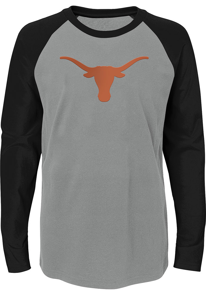 Texas Longhorns Youth Undisputed T-Shirt - Grey