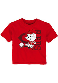 Mr. Red Cincinnati Reds Infant Outer Stuff Baby Mascot T-Shirt - Red
