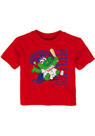 Phillie Phanatic Philadelphia Phillies Infant Outer Stuff Baby Mascot T-Shirt - Red