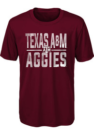 Texas A&M Aggies Youth Ground Control T-Shirt - Maroon
