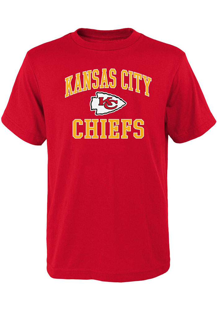 Kansas City Chiefs Youth #1 Design T-Shirt - Red