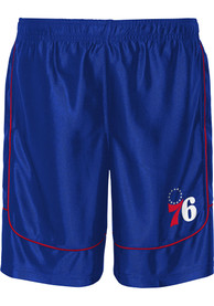 Philadelphia 76ers Youth Boomin Out Shorts - Blue