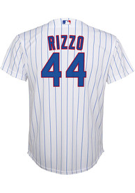 Anthony Rizzo Chicago Cubs Youth Nike 2020 Home Baseball Jersey - White
