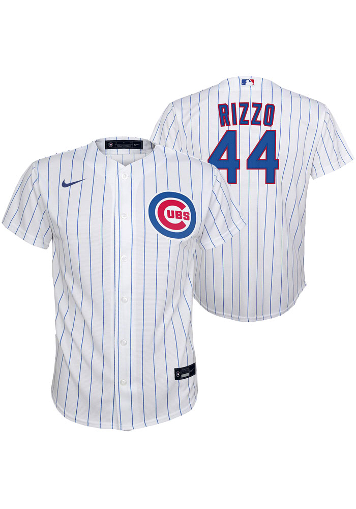 Anthony Rizzo Nike Chicago Cubs Youth White 2020 Home Jersey - 133403469
