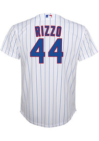 Anthony Rizzo Chicago Cubs Boys Nike 2020 Home Baseball Jersey - White