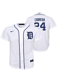 Miguel Cabrera Detroit Tigers Youth Nike 2020 Home Baseball Jersey - White