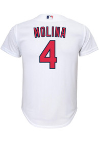 Yadier Molina St Louis Cardinals Youth Nike 2020 Home Baseball Jersey - White