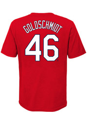 Paul Goldschmidt St Louis Cardinals Youth Name Number T-Shirt - Red