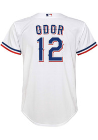 Rougned Odor Texas Rangers Youth Nike 2020 Home Baseball Jersey - White