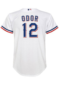 Rougned Odor Texas Rangers Boys Nike 2020 Home Baseball Jersey - White