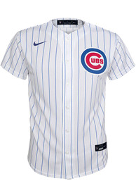 Chicago Cubs Youth Nike 2020 Home Baseball Jersey - White