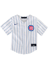 Chicago Cubs Baby Nike 2020 Home Baseball Jersey - White